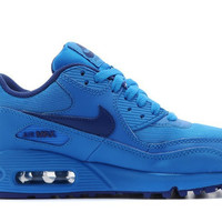 Blue Nike Air Max 90 Hyperfuse Running Shoes