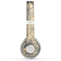 The Vintage Hanging Clocks and Keys Skin for the Beats by Dre Solo 2 Headphones