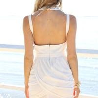 SABO SKIRT  Tulip Dress - Ivory - $58.00
