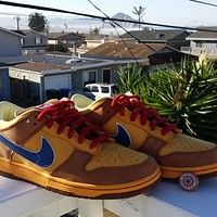 "Nike SB Dunk Low ""Newcastle Brown Ale"" low-top flat skateboard shoes"