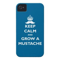 Grow a Mustache! iPhone 4 Case from Zazzle.com