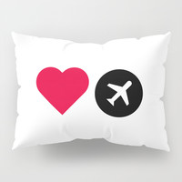 love travel Pillow Sham by Love from Sophie