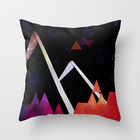 Space Mountain Throw Pillow by DuckyB (Brandi)