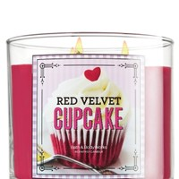 14.5 oz. 3-Wick Candle Red Velvet Cupcake