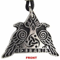 Odinic Warrior's Runes Pendant (FREE SHIPPING)
