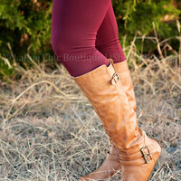CURVY FIT FLEECE LINED LEGGING *