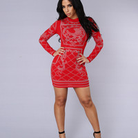 Royalty Dress - Red