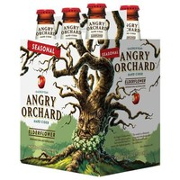Angry Orchard Seasonal Elderflower Hard Cider, 6 pack, 12 fl oz - Walmart.com