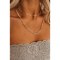 My Youth Is Yours Statement Necklace (Gold)