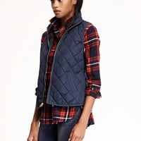 Quilted Vest for Women   Old Navy