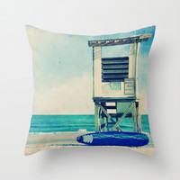 In the Summertime Throw Pillow by Shawn King
