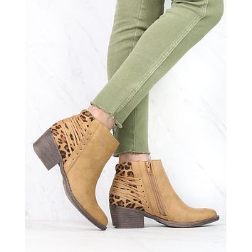 Very Volatile - Merrick Lace Back Booties in More Colors