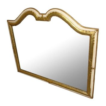 Pre-owned Mid-Century Hollywood Regency Wall Mirror Large