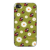 lady pug pattern case for iphone 4 4s