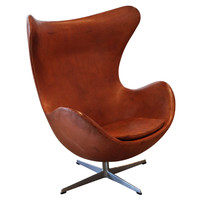 Arne Jacobsen Cognac Egg Chair, Denmark 1969