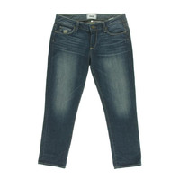 Paige Womens Jimmy Jimmy Mid-Rise Skinny Cropped Jeans