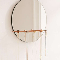 Shapes Hanging Mirror + Jewelry Storage - Urban Outfitters