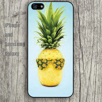 Fashion pineapple sexy colorful iphone 6 6 plus iPhone 5 5S 5C case Samsung S3,S4,S5 case Ipod Silicone plastic Phone cover Waterproof