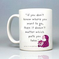 Alice In Wonderland Mug 11oz Ceramic