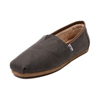 Mens TOMS Classic Fleece Casual Shoe