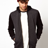 ASOS Bomber With Hood