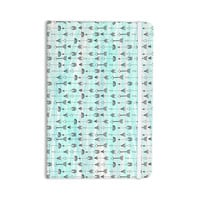 "Danii Pollehn ""Mintyarrows"" Pastel Pattern Everything Notebook"
