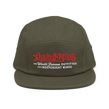 Liberty Maniacs Outfitter Five Panel Camper Cap