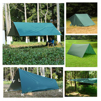 multifunction tarp 3f ul gear waterproof outdoor camping tarp 18 hanging points tent tarps awning sunshelter tarp