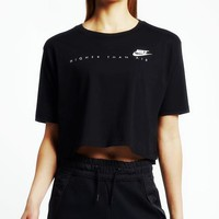 Nike Originals Short-Sleeve Cropped Top
