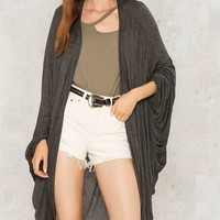 Hide Your Love Cocoon Cardigan