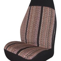 Allison 67-6886BLK Black Rough 'N Ready Universal Bucket Seat Cover - Pack of 2