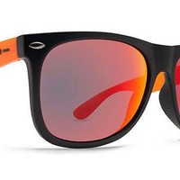 Dot Dash Kerfuffle Sunglasses (Black Orange Trans Satin/Red Chrome) at 7TWENTY Boardshop, Inc