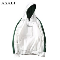 2018 Autumn White Hoodies With Hat Men Big Pocket Street Autumn Fashion Casual Hiphop Clothing Hoody Pullover Hoody Clothing