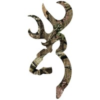 Browning Paint-Safe Buckmark Mossy Oak Break-Up Infinity Camo Decal 15""