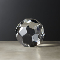 andre large crystal sphere
