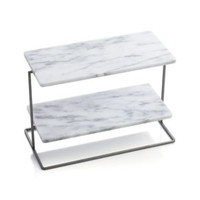 Rigsby Marble 2-Tier Server