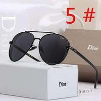DIOR New Fashion Polarized Women Men Business Casual Sunscreen Glasses Eyeglasses