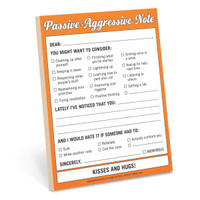 Passive-Aggressive Nifty Notes by Knock Knock - knockknockstuff.com