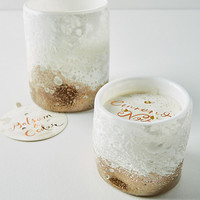 Snow-Capped Candle