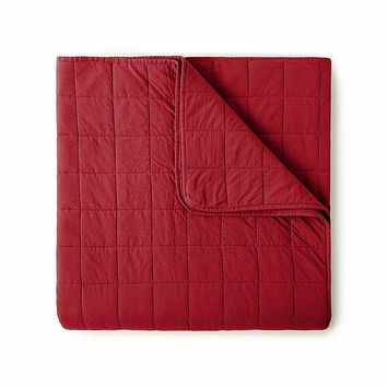 4 Square Berry Coverlet by Peacock Alley
