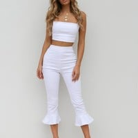 Buy Our Zanda Pant in White Online Today! - Tiger Mist