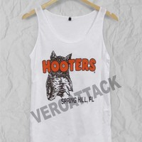 hooters Adult tank top men and women