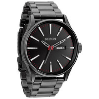 Nixon The Sentry Ss Watch Gunmetal One Size For Men 22922811201