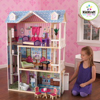 KidKraft My Dreamy Dollhouse with Furniture - 65823