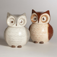 Owl Cookie Jars, Set of 2 - World Market