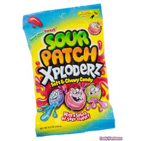 Sour Patch Xploderz Candy: 4.8LB Case