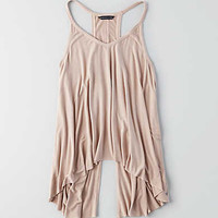 AEO Soft & Sexy Button Back Tank, Light Pink
