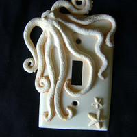 Octopus Light Switch Cover