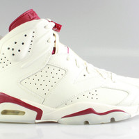 Air Jordan 6 VI Men's Retro Maroon 2015 Release