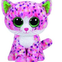 Ty Beanie Boo Sophie Pink Glitter Cat